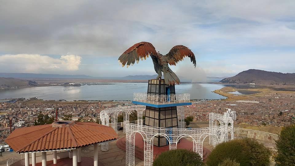 Peru'nun Şirin Kenti Puno'daki Mirador El Condor