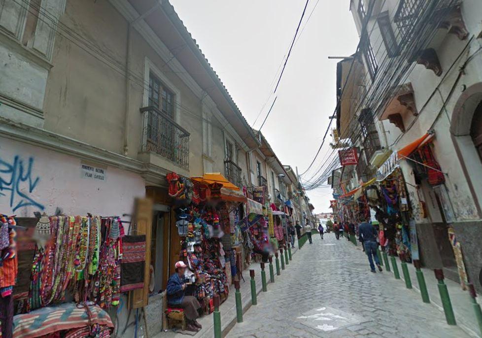 La Paz'ın Kendine Özgü, Sagarnaga Caddesi