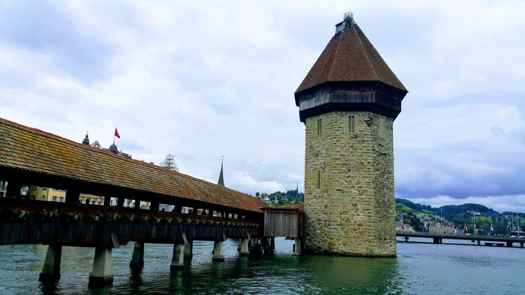 Luzern'de Gezilecek Yerler, Wasserturm (Su Kulesi)