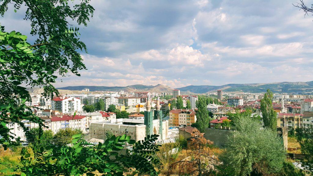 Sivas Kalesi'nden Şehir Manzarası