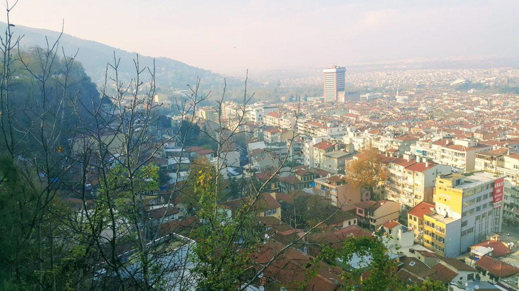 Uludağ Eteklerinden Bursa'nın Görünümü