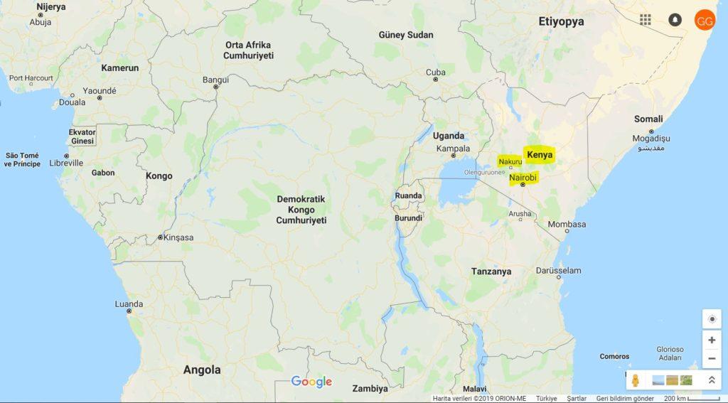 Kenya ve Kenya'nın komşuları