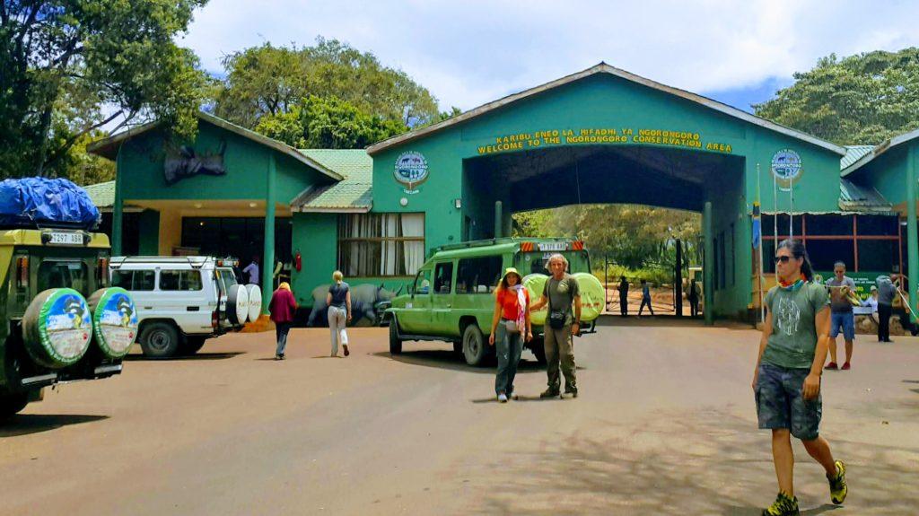 Ngorongoro Milli Park Girişi