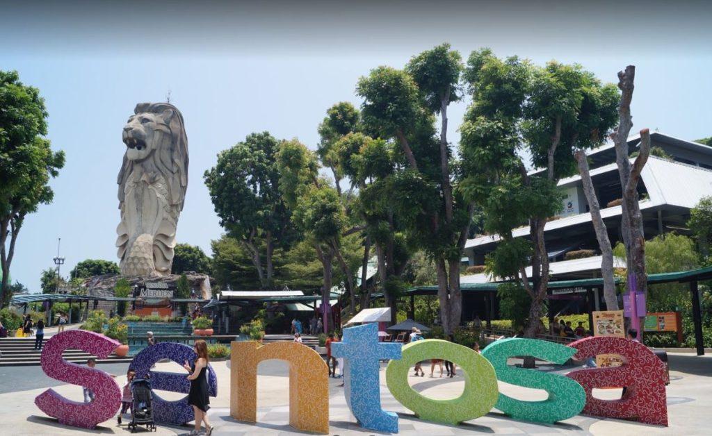Singapur Sentosa Adası