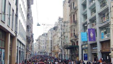 Beyoğlu İstiklal Caddesi