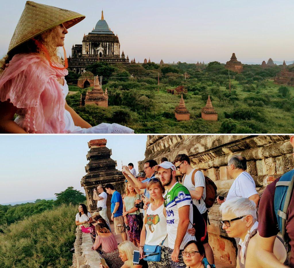 Bagan Tapınakları'nda Gün Doğumu