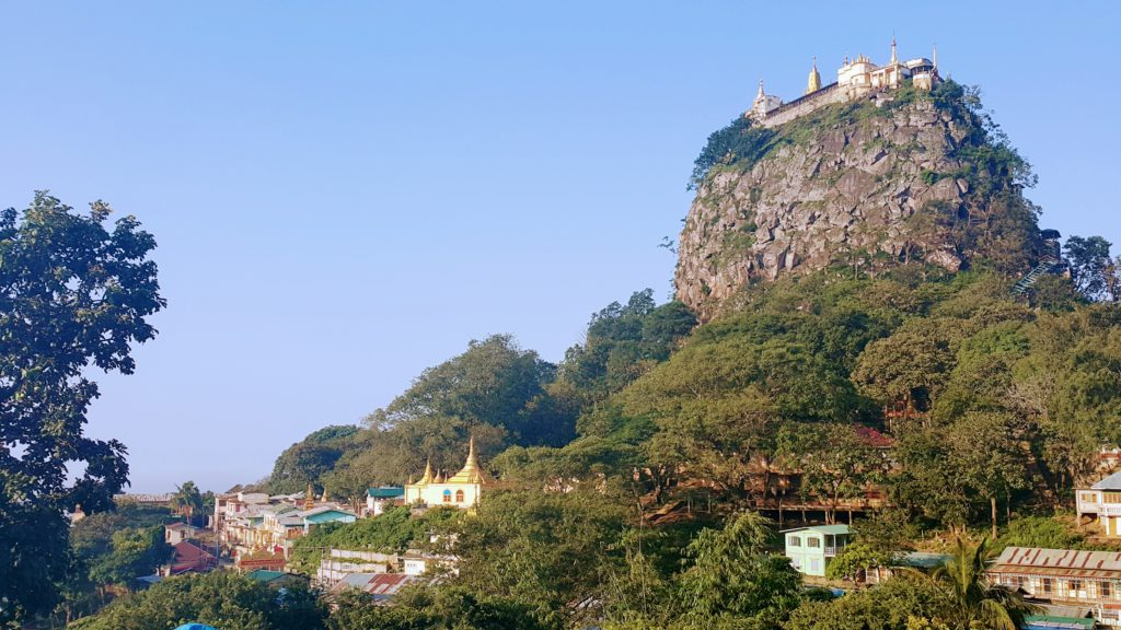 Mt. Popa National Park