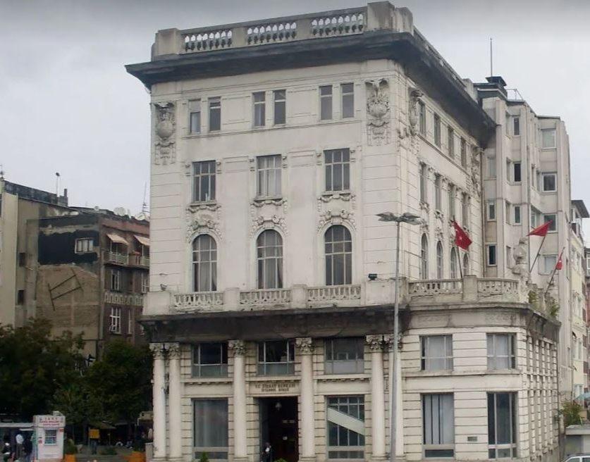 Tarihi Ziraat Bankası Binası
