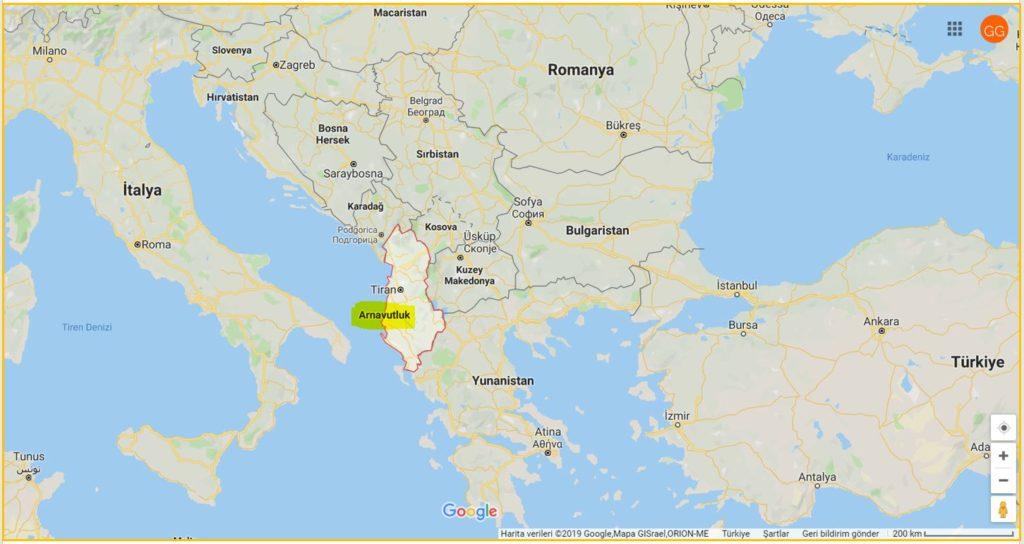 Arnavutluk ve Komşuları