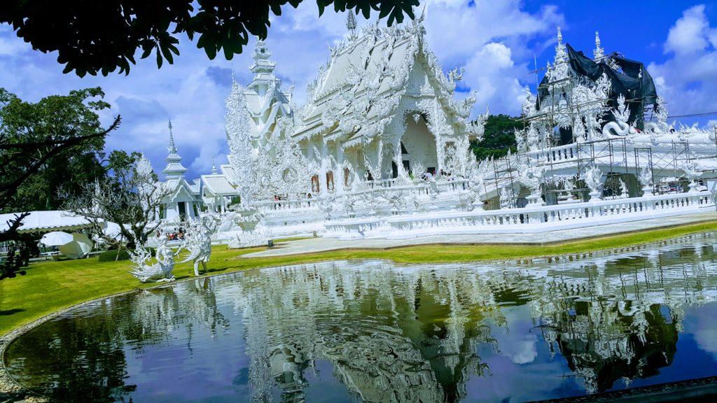 Chang Rai Bölgesindeki Beyaz Tapınak