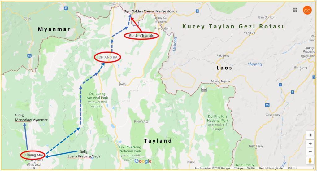 Kuzey Taylan Gezi Rotası