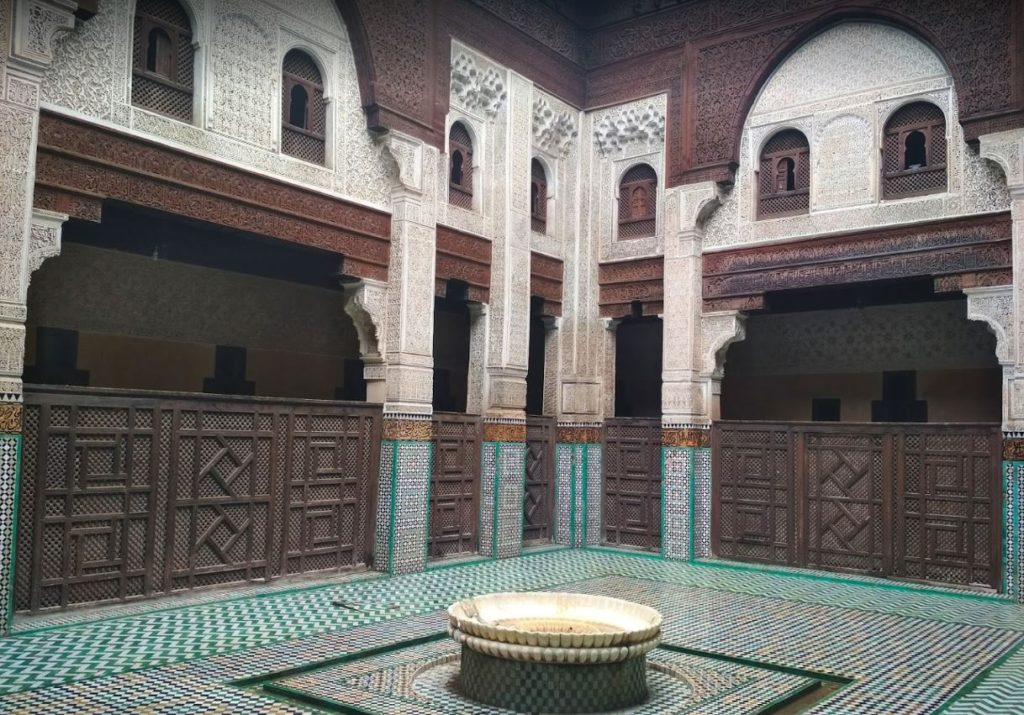 Meknes Madrasa Bou Inania