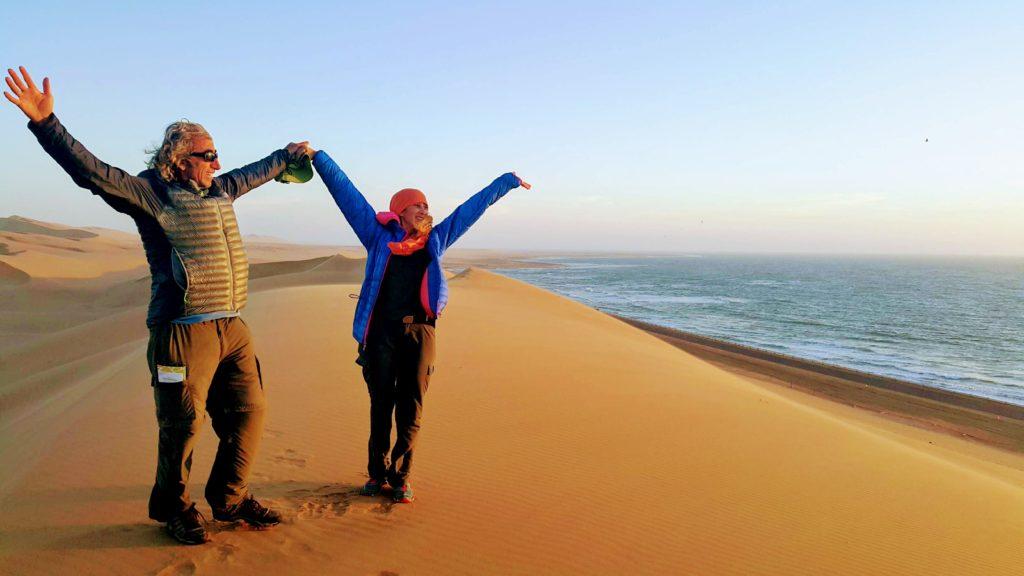 Namib-Naukluft Çölünün Atlas Okyanusu ile Birleştiği Sahil Şeridi