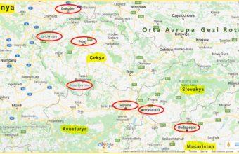 Orta Avrupa Gezi Rotası