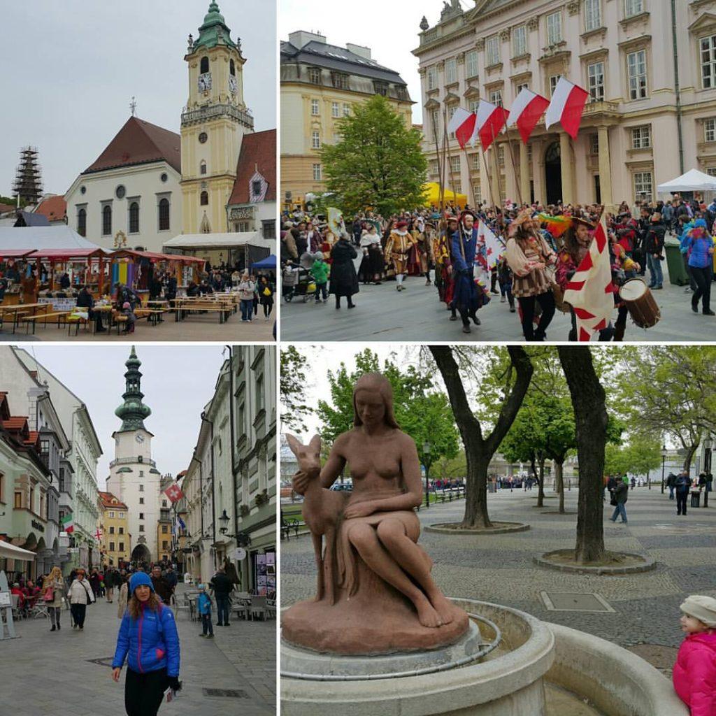 Slovakya'nın Başkenti Bratislava