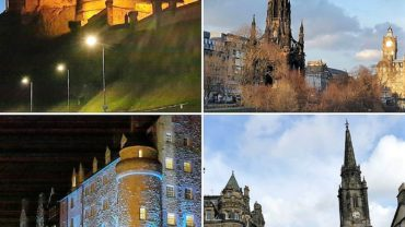 Edinburgh'dan Değişik Görüntüler