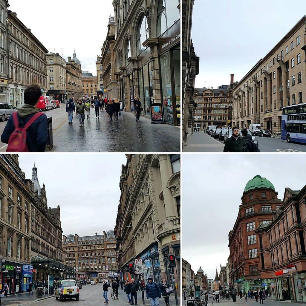 Glasgow'dan Değişik Görüntüler