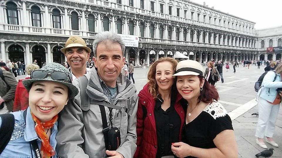 İtalya'nı Önemli Turizm Merkezi Venedik San Marco Meydanı