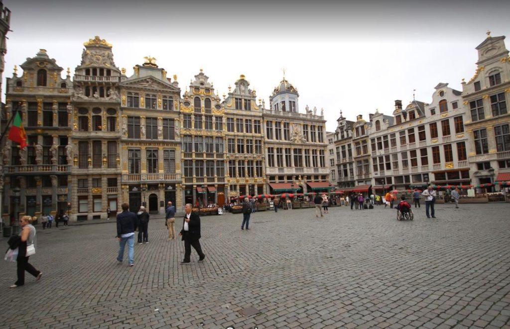 Bürüksel Meydanı ve Grand Place