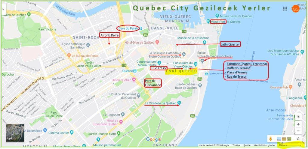 Quebec City Gezilecek Yerler