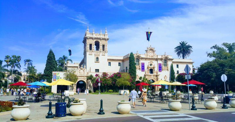 Balboa Park'ta Tarihi Yapı